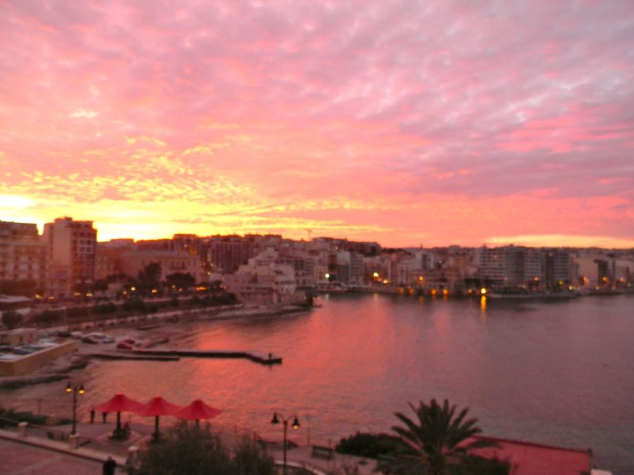 Sliema Sunset, Malta