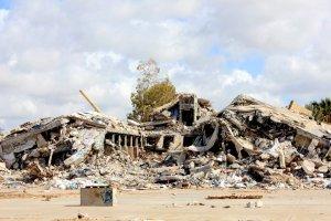 Colonel Gaddafi's HQ near Tarabulus, Libya