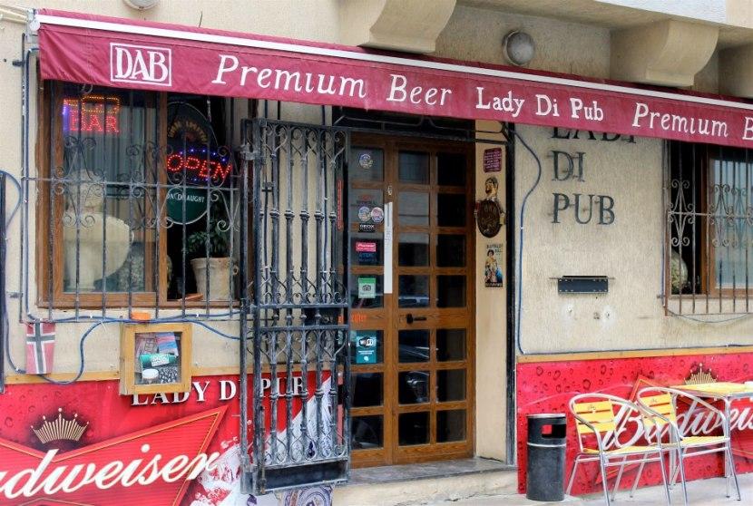 Lady Di Pub, Valletta Malta